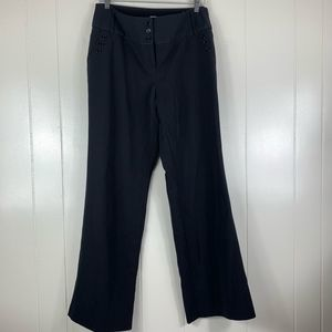 SALE | Studio 1940 Black Trouser Slacks - 10